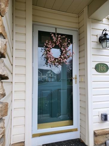 Russell - front door